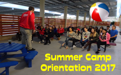 Summer Camp Orientation